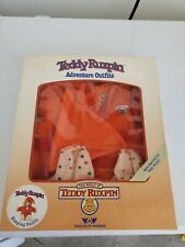 Vintage 1985 Teddy Ruxpin 3pc. Sleeping Outfit Worlds of Wonder Wow
