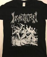 INCANTATION Ladies T Shirt Death Metal Immolation Morbid Angel Mayhem Venom S-XL