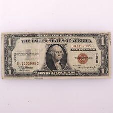 1935 American One Dollar Silver Certificate Hawaii Emergency Currency US $1 Note