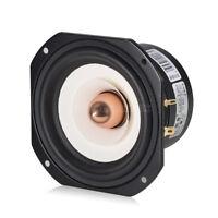"""4"""" inch Full-range Speaker Unit Whole Frequency Loudspeaker for Home Audio 4Ω"""