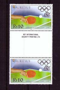 Mauritius Mi-Nr. 821 - postfrisch mit Zwischensteg - 100 J. Olympische Spiele