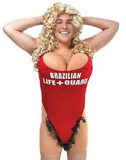 Lifeguard Baywatch Fancy Dress Costume & Wig STAG Night