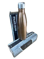 Swig Savvy's Stainless Steel Insulated Water Bottle 17 Oz Blue BPA-Free 24 Hours