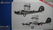 "1/48 Supermarine Walrus MK.I ""Early Wariors"" Model Kit By Special Hobby Models"