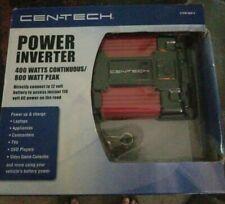 Cen-Tech Power Inverter, USB Port, 400 Watt Continuous/800 Watt Peak