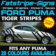 FORD PUMA TIGER STRIPES GRAPHICS DECALS STICKERS ZETEC 1.4 1.6 1.8 RALLY RACING
