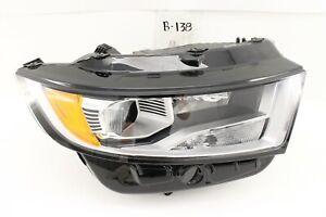 USED OEM HEAD LIGHT HEADLIGHT LAMP HEADLAMP XENON 15-18 ford edge RH chip mount