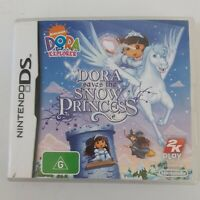Nintendo DS Dora Saves The Snow Princess Pre Owned Instruction Booklet