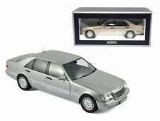 NOREV 1:18 1997 MERCEDES-BENZ S600 Diecast Car Silver 183563