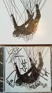 KORN FULLY SIGNED THE NOTHING CD AUTOGRAPHED INSERT - Guaranteed Authentic. New