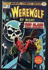 Werewolf by Night (1972) #30 FN+ (6.5) Don Perlin art