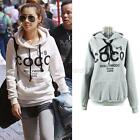 Autumn Womens Hoodie COCO Print Coat Sweatshirt Outerwear Tracksuit Tops E59