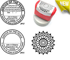 New JUSTICE OF THE PEACE NSW Custom Flash Stamp Pre & Self Inking Refillable