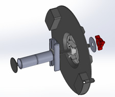 Dremel 3D45 DIGILAB Filament Spool Holder with ball bearing roller - Black
