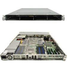Supermicro CSE-815 1U Rack Server Mainboard X9DRi-LN4F+ Rev. 1.20A 2x SNK-P0047P