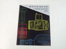 HASSELBLAD - CATALOGO GENERALE 1991 - ANNIVERSARY 500CLASSIC - BUONE COND.- L4