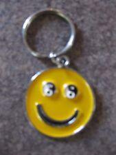 HAPPY FACE  KEY RING