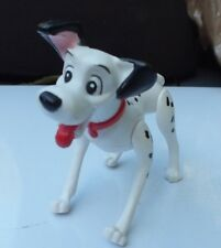 Vintage Disney 101 Dalmatians Pongo PVC Dog Red Collar Figure 3 Inch Jointed