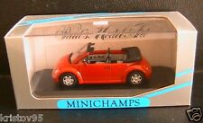 VW VOLKSWAGEN NEW BEETLE CONCEPT CAR CABRIOLET 1994 RED MINICHAMPS 430054032