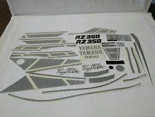 YAMAHA RZ350 DECAL GRAPHIC SET BLACK & WHITE (#Y67)