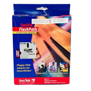 SanDisk FlashPath Floppy Disk Adapter for SmartMedia PC or MAC Storage