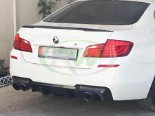 Carbon Fiber Real Boot Spoiler BMW F10 5 Series P Type Saloon 2010 -16 UK SELLER
