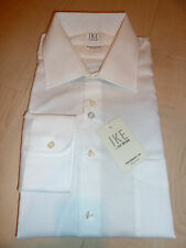 NEW $200 IKE BEHAR Mens Dress SHIRT 16 32 White Non-Iron Performance Cotton BC