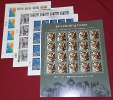 INew First 4 US Semi-Postal Stamps B1, B2, B3, and B4 in full sheets of 20 each