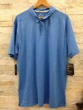 Nike Dri-Fit Dry Control Stripe Golf Polo Blue Nebula 942876-465 Men's Size Xl