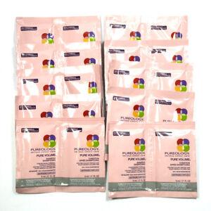 Pureology Pure Volume Shampoo & Conditioner 10 Sample Packs