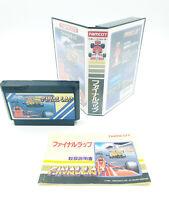Final Lap - Nintendo Famicom (NES) - CIB / TBE - NTSC-J JAP