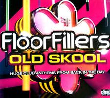 FLOORFILLERS OLDSKOOL - 3 X CD MIXED 90S PIANO HOUSE TRANCE RAVE CD CDJ DJ