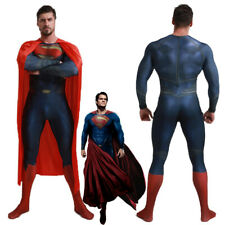 Superman Returns Justice League Jumpsuit Cosplay Costume