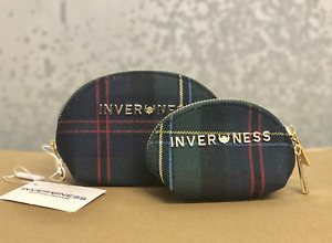 Inverness New Set of 2 Multi purpose small coin/makeup/jewellery bags/purse