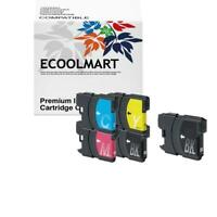 5 * INK FOR LC61 BROTHER PRINTER MFC-250C MFC-255CW MFC-257CW MFC290C MFC-295CN