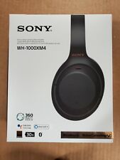 SONY WH-1000XM4 WIRELESS NOISE CANCELLING STEREO HEADPHONES BLACK WH-1000XM4/B