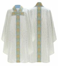 Cream Gothic Chasuble with matching stole 777-K14 us
