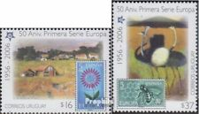 Uruguay 2880-2881 (complete issue) unmounted mint / never hinged 2005 50 years E