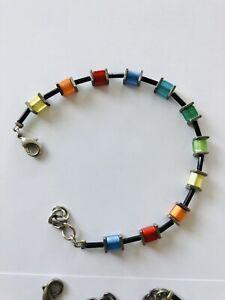 COEUR de LION Damen Armband multicolour Würfel