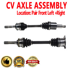 FRONT Driver & Passenger CV Axle Shaft For CHEVROLET TRACKER 1999-2004 4WD