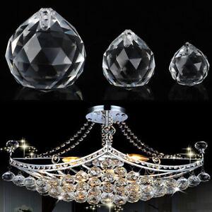Crystal Round Ball Prism Hanging Ornament DIY Pendant Accessory Xmas Decor G.RI