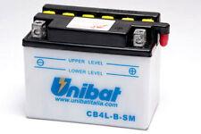 BATTERIA UNIBAT 4AH 12V CB4L-B-SM PEUGEOT Ciclomotore(E-Starter) 125 01