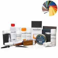 Colourlock ® Pelle Riparazione Set Completo fortemente machalke Safari Vanilla 05