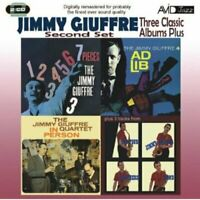 Jimmy Giuffre - Three Classic Albums Plus (7 Pieces / Ad Lib / In Person) [CD]