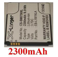 Battery 2300mAh type EB-L1M1NLA EB-L1M1NLU For Samsung GT-I8750 Ativ S