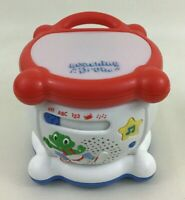 Leap Frog Learning Drum Musical Instrument 123 ABC Toy Light Up with Batteries