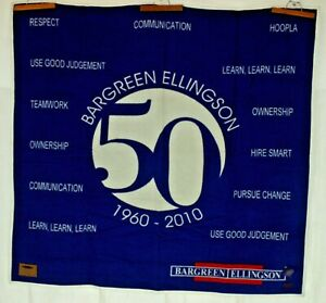 "Pendleton Wool Blanket Bargreen Ellingson 62x65"" LTD ED 1/500 2010 USA Charity!"