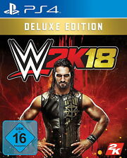 WWE 2K18 - Deluxe Edition (Sony PlayStation 4, 2017)