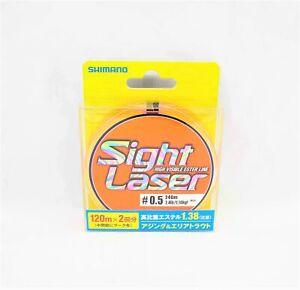 Shimano CL-L75Q Sight Laser Ester Line Orange 240m Size 0.5 2.4lb 549228