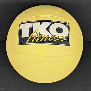 TKO 6 Pound 6lb Weighted Fitness Medicine Ball For Full Body Crossfit Workout
